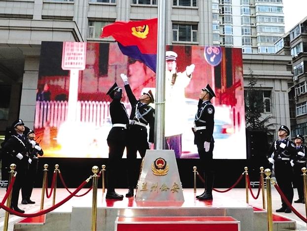"""庆祝首个""""中国人民警察节"""" 风采"""