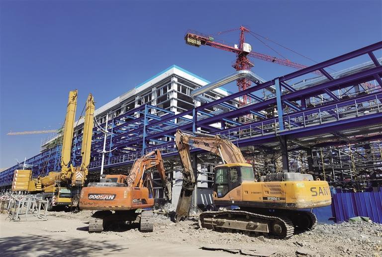 蘭州石化全力推進重點項目建設