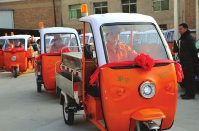 安宁——投入新型保洁车助力整治
