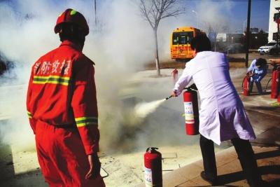 明升m88.com市儿童福利院组织消防安全演练