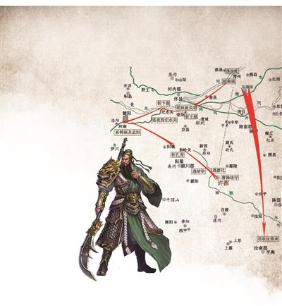 """教授还原三国300余幅古地图 发现关羽是""""路痴""""?"""