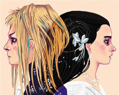 爱情对对碰:艺术家用插画再现经典影视作品主人公