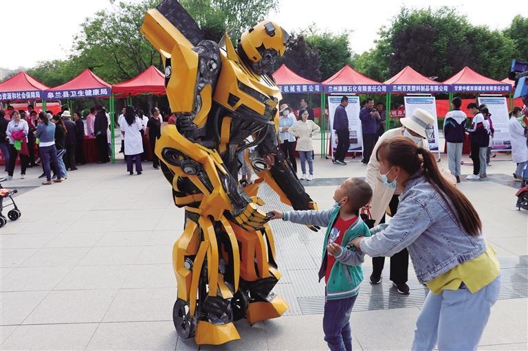 皋兰县启动2021年科技活动周