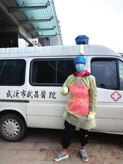 李佳林参与武汉疫情防控工作 图片由本人提供