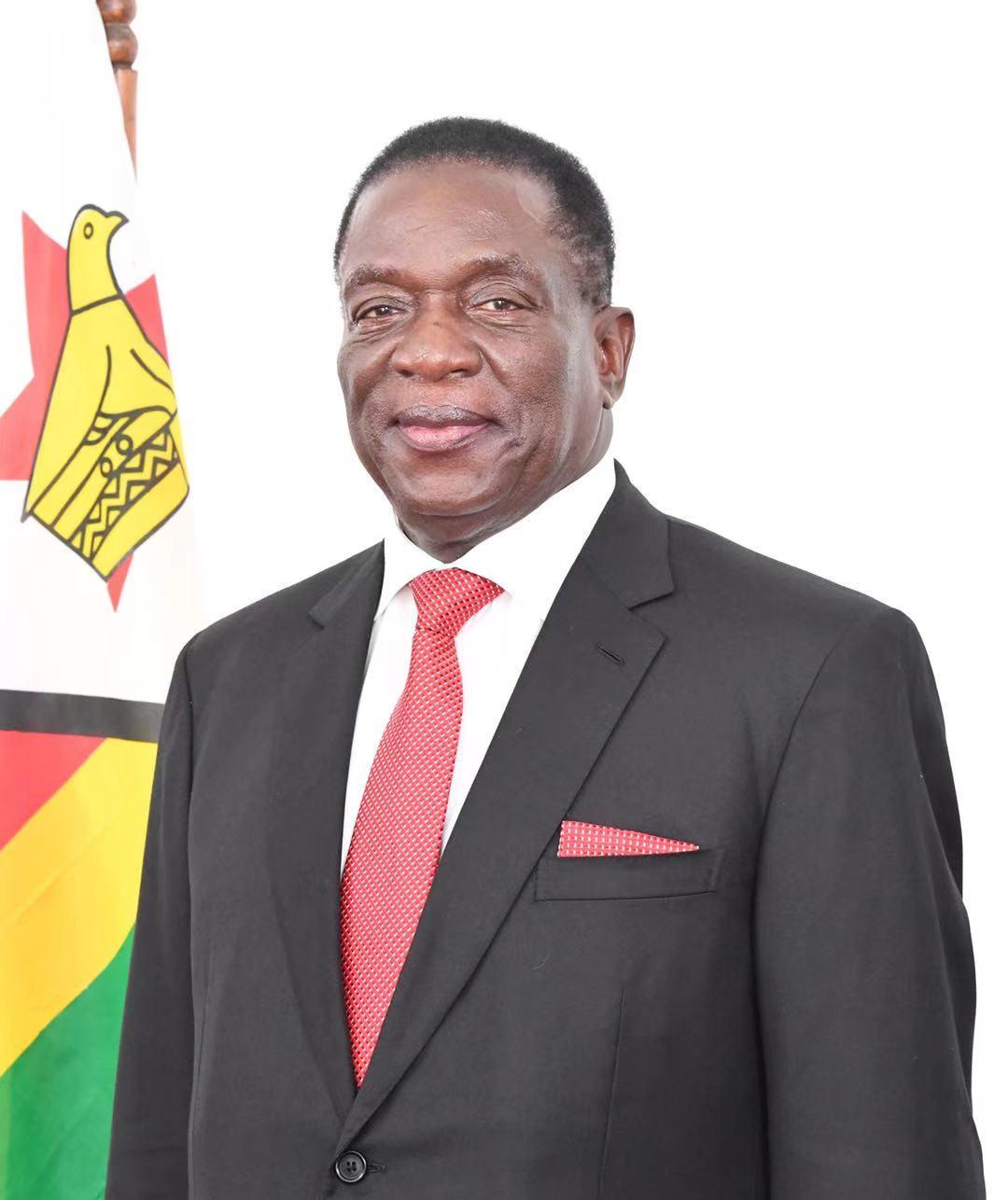 津巴布韦总统:中国生产的新冠疫