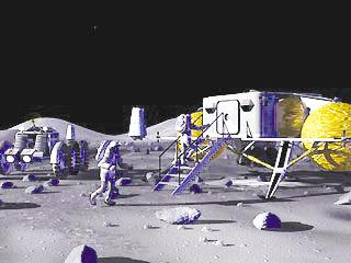美国要重返月球