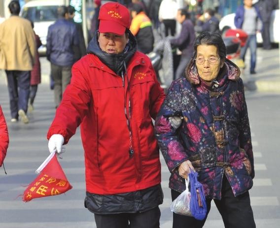 志愿服务 蔚然成风_兰州新闻网