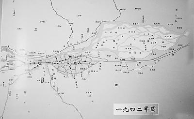 解放前长春地图