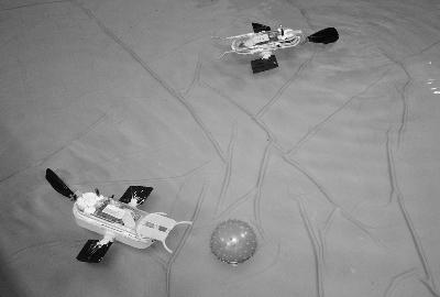 自主视觉的水中机器人