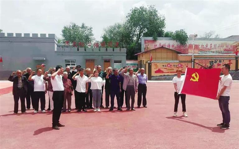 沈家岭红色教育基地接待10000人次参观