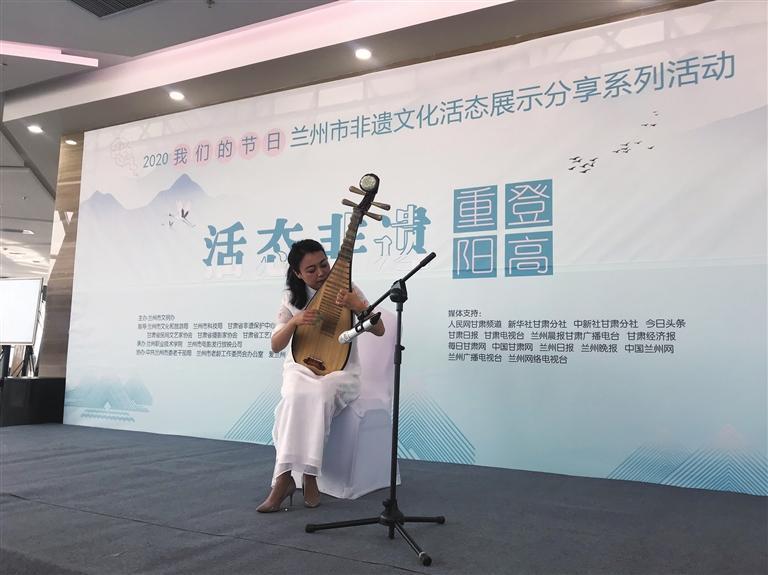 """我市举行""""重阳·登高""""公益文化演出"""