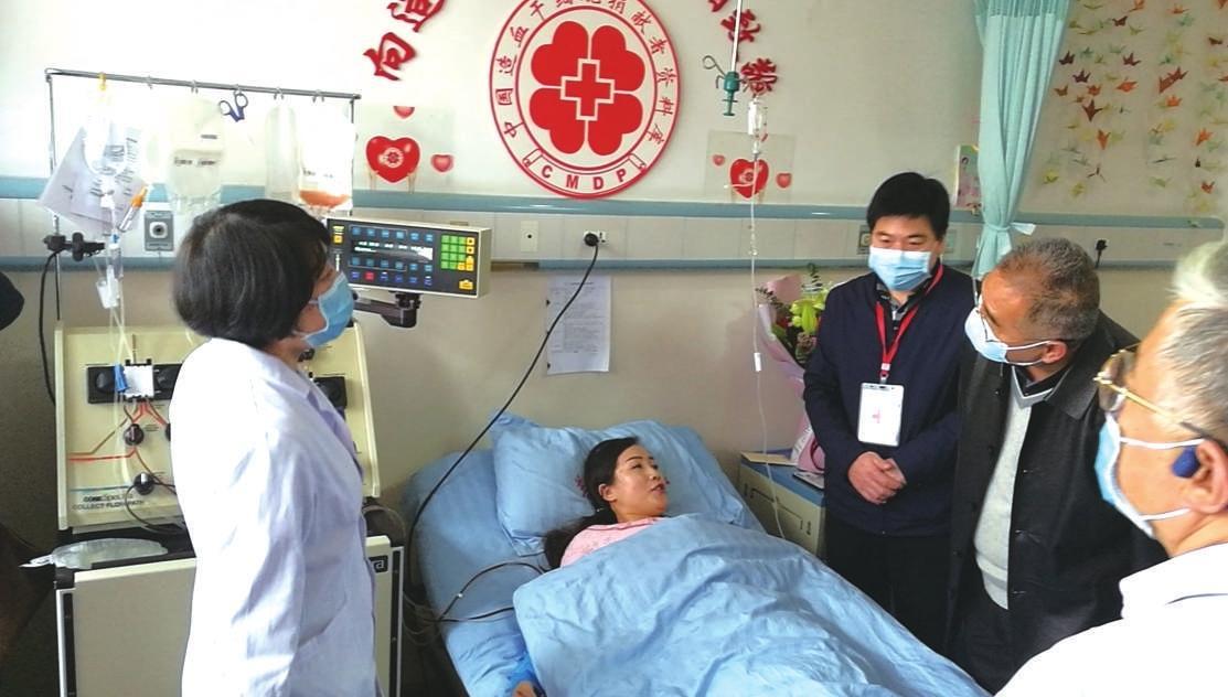 38岁药师成我省第40例造血干细胞捐献者