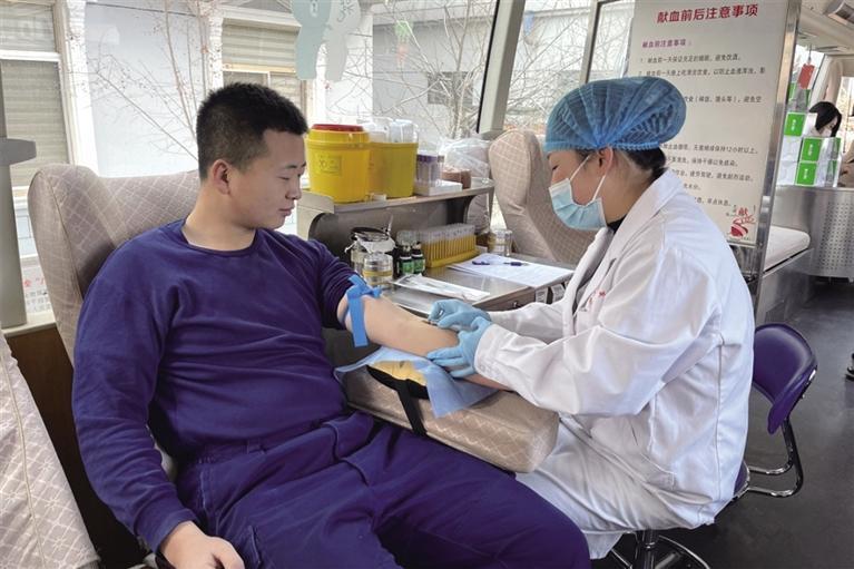 无偿献血为生命加油