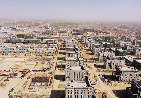 新区一季度190个新建项目已开工152个