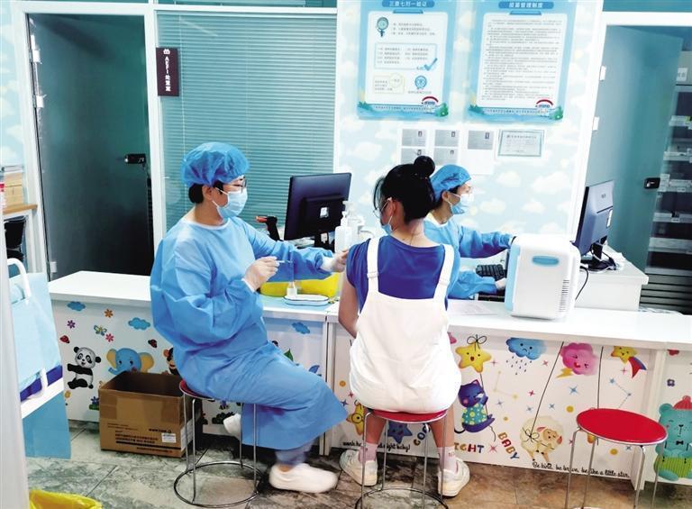 城关区开始接种新冠疫苗加强针