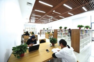 兰州新区图书馆建成试运营