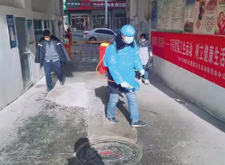 九州中路社区多措并举做好疫情防控