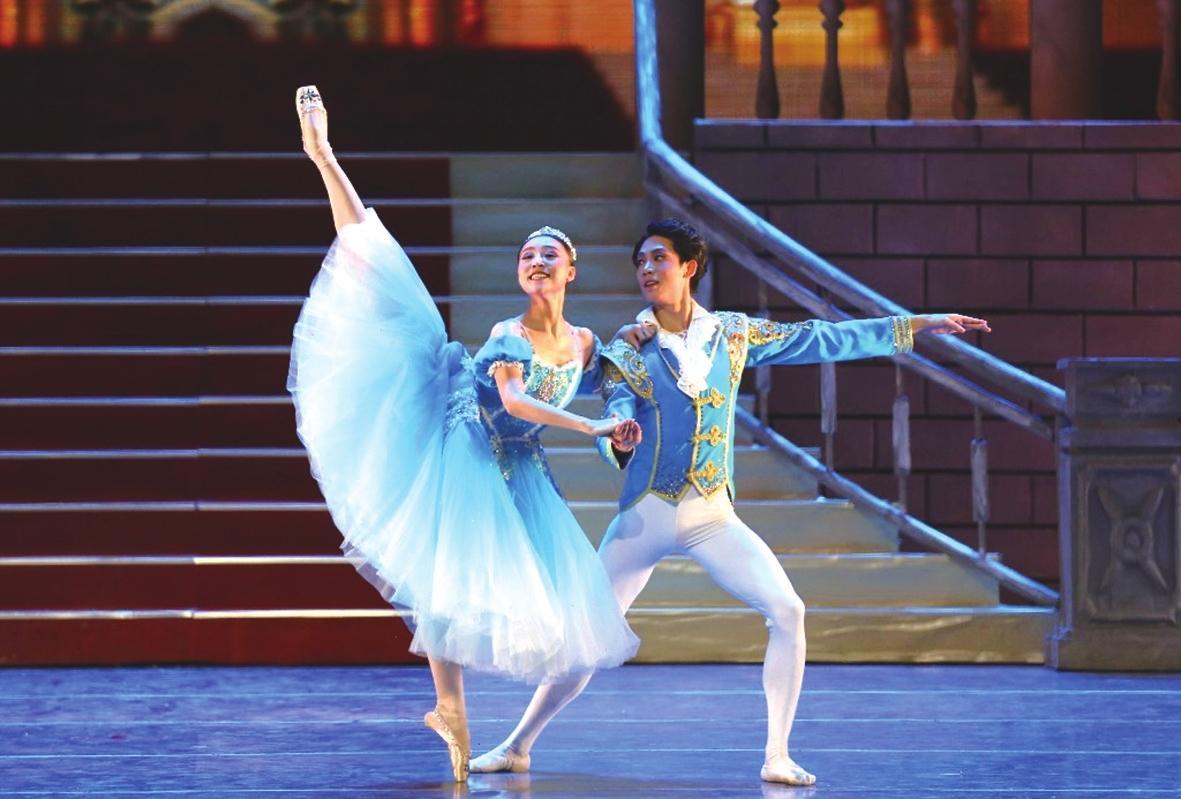 芭蕾舞剧《灰姑娘》上演