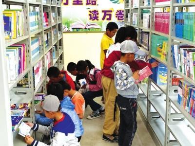 永登22所乡村学校有了图书室