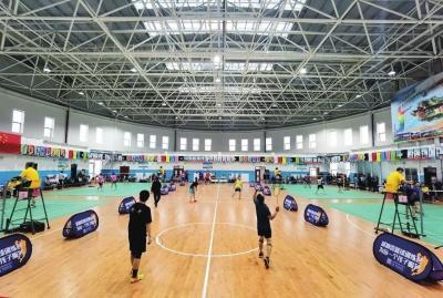 榆中县全民健身中心正式开馆