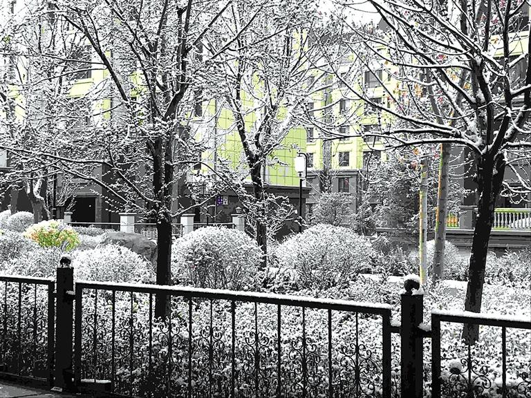 ■图说新闻酒泉、嘉峪关 下雪了